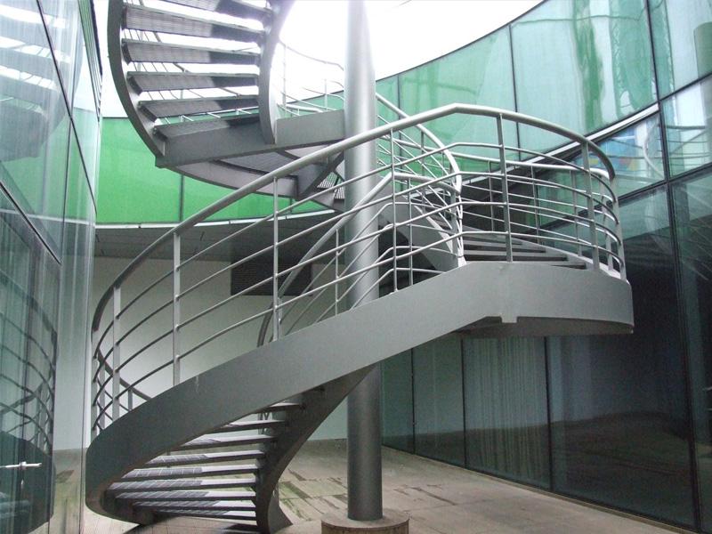 旋转钢结构楼梯