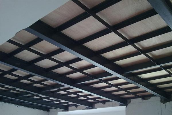 钢结构隔层4