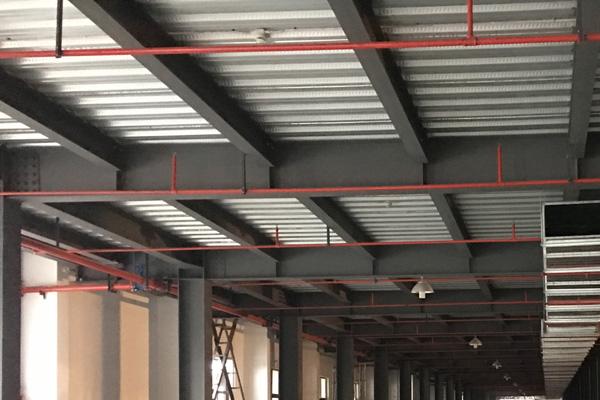 钢结构隔层6